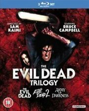 The Evil Dead Trilogy Blu-ray Set 3 Disc Army of Darkness Bruce Campbell