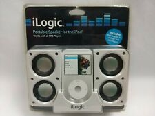 iLogic Portable Speaker for iPod and all MP3 Players with Adapter