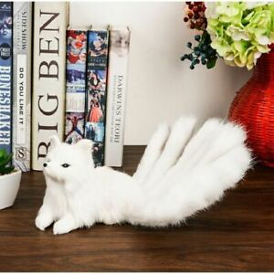 Lovely Simulation Stuffed Plush Soft Fox Toys Cute Gift Home Decoration Toy