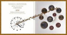 SLOVENIE Coffret BU 2010 - 10 Monnaies (dont 2 et 3 Euro commémoratives)