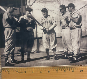 ST. LOUIS BROWNS PLAYERS BASEBALL WIRE PHOTO COPY 8.5X11