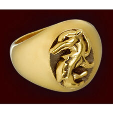 ANELLO RING HARRY POTTER COSPLAY TASSOROSSO HUFFLEPUFF TASSO ROSSO COSTUME #1