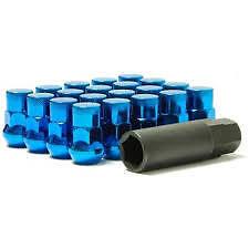 Muteki SR35 Wheel Nuts Lockers - BLUE -  M12x1.25 Nissan Subaru Impreza GTR UK