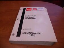 1993 Isuzu Truck Forward Tiltmaster Service Manual Jul5282 Ds910B2