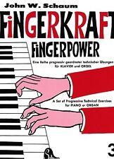 Klavier Noten : SCHAUM Fingerkraft  Fingerpower 3 leichte Mittelstufe - BOE 3572