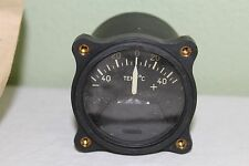 NOS Edison CO. Vintage Aircraft Thermometer Indicator Gauge 88-I-2850 -50 to +50