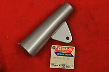 NOS 1967 Yamaha YL2 Silver Right Fork Ear Cover, YL2C