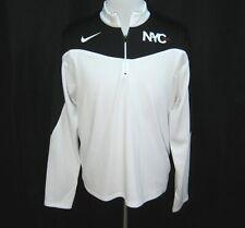 Vintage NIKE TENNIS Mens Black & White 2005 U.S. Open Athletic Shirt (Medium)