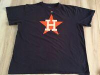 Majestic Houston Astros Shirt 3XL XXXL Blue Coopers Town MLB Baseball Mens