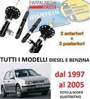4 AMMORTIZZATORI ANTERIORI+POSTERIORI BILSTEIN VW GOLF 4 IV (1J1) dal 1997-2005