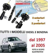 4 AMMORTIZZATORI ANTERIORI+POSTERIORI BILSTEIN VW GOLF 4 IV 1.9 TDI 96 KW 130 CV