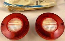 Corvette 1980-82 NOS GM backup lamp lenses (pair) 80 81 82