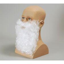 "11"" Father Christmas Beard - 11 Fancy Dress White Santa Xmas Fancy Dress White"