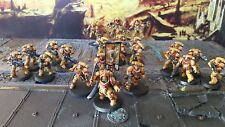 Warhammer Primaris space marines army Imperial fists  Pro painted made to order