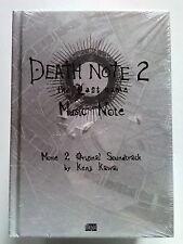 Death Note 2 The Last Name CD Music Note COLONNA SONORA LIBRO+CD BLISTERATO *MA