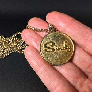 Pedigree Sindy Doll Club Medallion 1968 necklace chain pendant human adult size