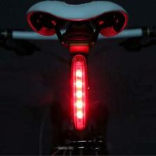 Cycling Bicycle Super Bright Red 5 LED Rear Tail Light Bike Lamp 4 modes JZ