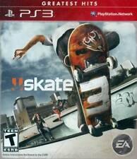 (NEW SEALED) PS3 SKATE 3 PLAYSTATION 3 SKATEBOARD GAME SKATE BOARD SKATEBOARDING