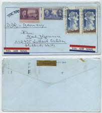 50391 - USA - Beleg - New York 1972 nach Eisleben