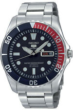 SEIKO SNZF15K1,Men's Sport,Automatic,Stainless steel,Rotating Bezel,100m WR
