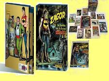Album CARTONATO Collezione ZAGOR + SET COMPLETO Figurine Panini CARDS Stickers