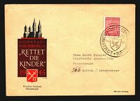 Germany 1946 Mi# 71xb Used on Naumburg's Event Cover - Z14103