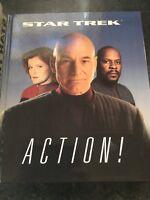 Star Trek Action! by Erdmann, Terry Hardback
