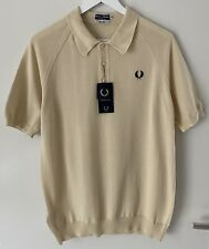Original Fred Perry Reissues Polo Shirt M Neu Made in Italy