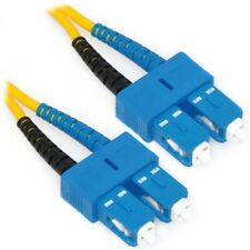 US Seller NEW Duplex SM SC to SC Patch Cable Fiber Optic Jumper 2 Meter Corning