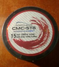 15 LBS Test x 1685 YD Cortland CMC-ST8 Monofilament Fishing Line  New in Package