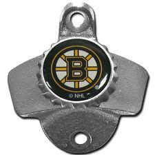 Boston Bruins NHL Wall Mount Metal Pub Bar Bottle Opener