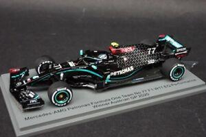1:43 Spark S6466 Mercedes AMG F1 W11 EQ #77 winner Austria GP 2020 V.Bottas
