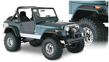 Bushwacker 10910-07 Cut-Out Fender Flares Fits 56-86 CJ5 CJ6 CJ6A CJ7 Willys