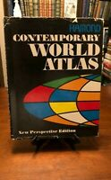 HAMOND CONTEMPORARY WORLD ATLAS (New Perspective Edition) 1967 - HC -  RARE!!