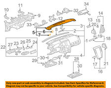 Cadillac GM OEM 05-11 STS Instrument Panel Dash-Defroster Nozzle 25774060