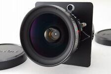 MINT Fujinon SW 90mm f/8 Copal & Horseman VH-R 45FA Lens Board From JP #Z161