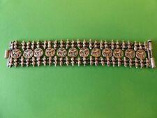 Antique Middle Eastern Silver bracelet, 71.3 Grams.
