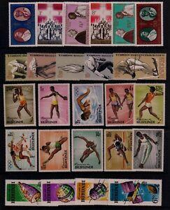 BURUNDI #68//140 Mint Hinged 1964-1965: Olympics, Martyrs, Space, Cooperation