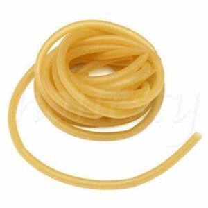 1/2M 6090 Natural Latex Rubber Band Tube for Slingshot Catapult Elastic 6x9mm