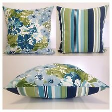 45x45cm Bryant Indoor/Outdoor Floral Garden/Stripes Cushion Cover