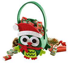 Neu+Tasche+Filz+Korb+Säckchen+Nikolaus+Weihnachten+Stiefel+Geschenktasche+Eule+