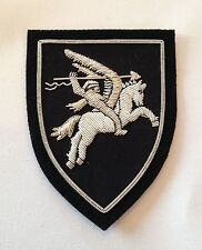 Airborne Pegasus Blazer Badge, Army, Military, Embroidered, Armed Forces, Jacket