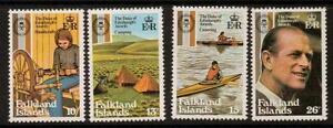 FALKLAND ISLANDS SG405/8 1981 DUKE OF EDINBURGH MNH