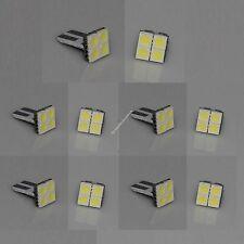 100X T10 PCB 194,W5W,168 4 SMD 5050 LED Bright White Car Light Lamp Bulb DC 12V