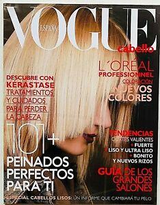 Vogue España Spagna Spain Cabello Capelli Hairstyle Tagli Pettinature