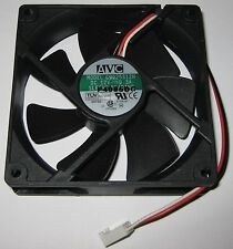 AVC 92 mm Cooling Fan w/ 3 Pin Connector - 12 V DC - 52 CFM - 2800 RPM - 7 Blade