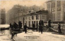 CPA PARIS Rue de Bellechasse INONDATIONS 1910 (605922)