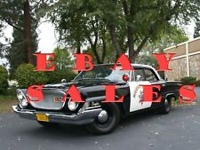 1962 Chrysler Newport Enforcer CHP California Highway Patrol Photo POLICE CHIPS