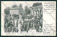Arezzo Casentino Verna Alterocca 2574 cartolina QQ3372