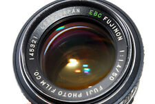 Rare [Excellent Fuji EBC Fujinon 50mm f/1.4 MF Lens for M42 Mount From Japan